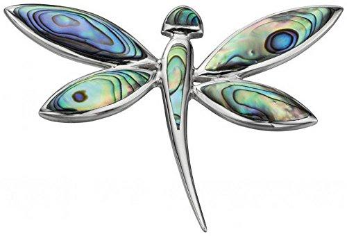 Elements Beginning Colgante de la libélula de Gran tamaño paua Shell