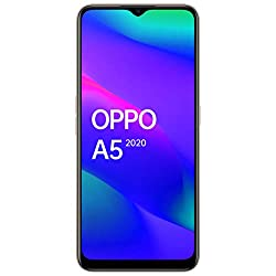 OPPO A5 2020 (Dazzling White, 4GB RAM, 64GB Storage) with No Cost EMI/Additional Exchange Offers,OPPO,CPH1933