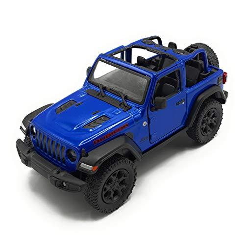 K Modellismo Auto da Collezione Wrangler Jeep in Scala 1:34 (Blue)