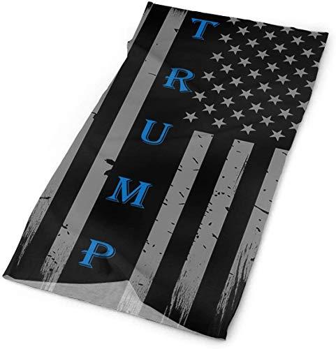 Keyboard cover Trump Vintage USA Slim Blue Line Bandana Headwear Bandana Headwear Headwear Magic Scarf Face Bufanda Cuello Polainas One_color. Talla única