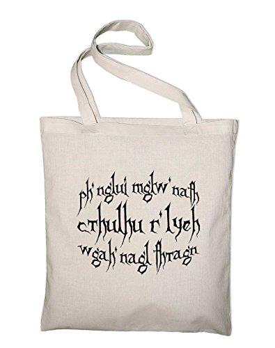 Styletex23#3 HP Lovecraft jute zak katoenen tas