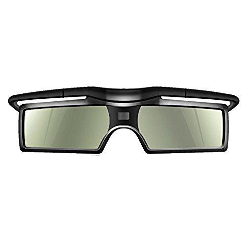 TopDiscover G15-DLP 3D Aktive Shutter Brille 96-144Hz für LG / BENQ / ACER / SHARP DLP Verbindung 3D Projektor