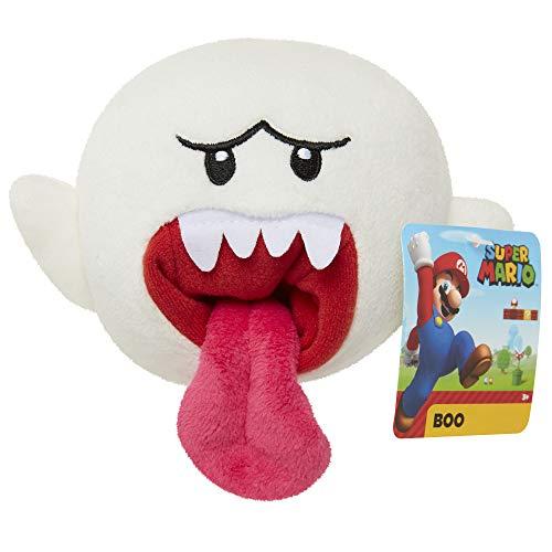 Super Mario Boo - Figura Coleccionable de Peluche de 15,2 cm
