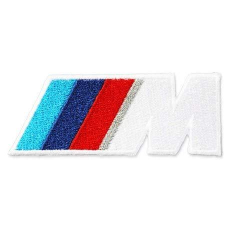 PATCHMANIA B.M.W. M Power M3 Logo 7,6 CM Parche, Parches Termoadhesivos,Parche Bordado para la Ropa Termoadhesivo