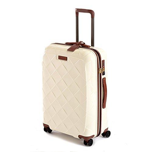 ストラティック レザー&モア Mサイズ 【62cm】| スーツケース | 3-9902-65 ミルク (旅行用品)