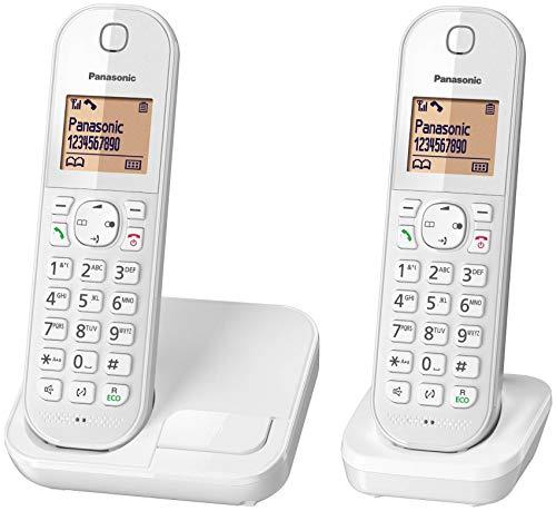 Telephone DECT Duo BLANCt'l d'int'rieur Sans Fil
