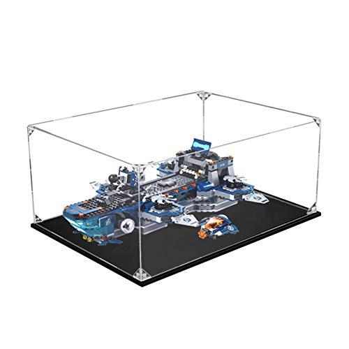 icuanuty Vitrina de Acrílico para Lego Marvel Super Heroes Helitransporte de los Vengadores - 76153, Display Case Vitrinas para Colecciones Modelismo (Solo Vitrina)