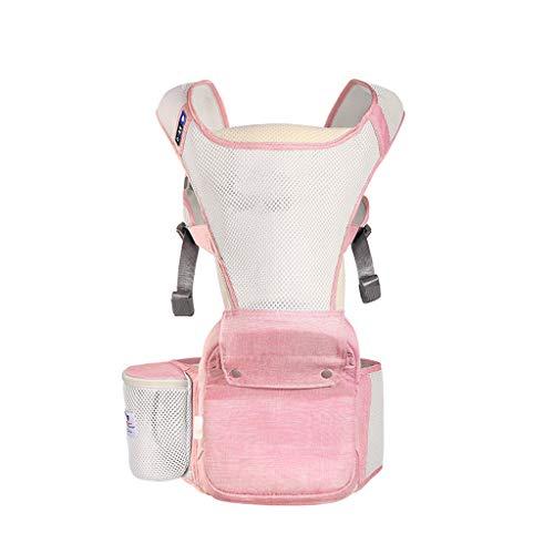Mochila portabebés ergonómica Hipseat para bebés recién Nacidos y para prevenir Las piernas Tipo O Sling Baby Kangaroos (Color : D)