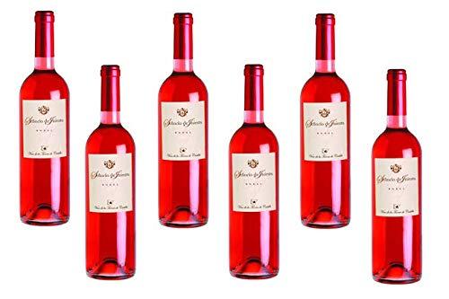 Señorio de Iniesta. Vino Rosado vino de la tierra de castilla, 100% variedad Bobal. Caja de 6 botellas.