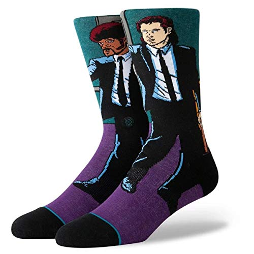 Stance Vincent And Jules Chaussettes unisexes Violet Taille S
