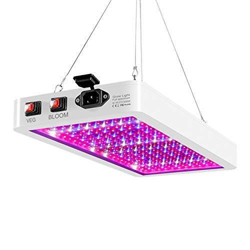 Luz LED para cultivo de plantas, farol LED impermeable de 1000W 216Leds, Chip de 2835 Leds, lámpara de crecimiento Fito de 85-265V, iluminación de plantas de espectro completo para planta de interior