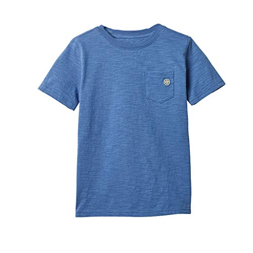 Julhold Peuter Baby Kids Jongens Eenvoudige Mode Katoen Effen Polo Casual Katoen T-shirt Blouse Kleding 1-10 Jaar