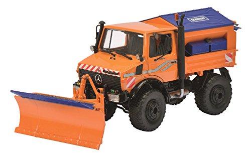 Schuco Dickie 450772500 - Unimog U 1600 Winterdienst, 1:32