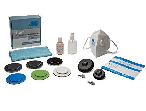 Glas Reparatur DIY Kit, Kratzer gp-wiz System–entfernt Kratzer, Mineraldepot, Wasser Schäden, Abnutzung und säureätzung–Deluxe