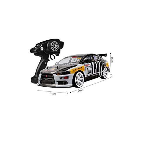 MUZoo RC Car, Alta velocità Car Drift RC Professionale da Corsa, Arrampicata Fuoristrada a Quattro Ruote motrici dell'automobile di Telecomando, Carica dinamica di Corsa Modello for i Bambini ragazz