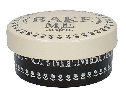 Creative Tops Stir It Up piekarnik ceramiczny, czarny/biały, 38,1 x 38,1 x 43,18 cm