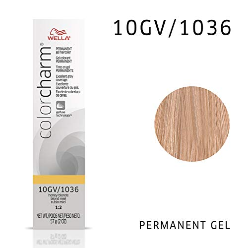 WELLA Color Charm Permanent Gel Hair Color, 10G, 2 oz