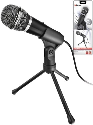 Trust Starzz Microphone For Pc Laptop Computers Accessories