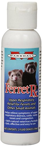 Marshall 2-Ounce Ferret Rx Upper Respiratory Treatment