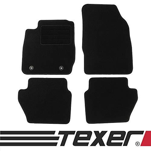 CARMAT TEXER Textil Fußmatten Passend für Ford Fiesta VI Bj. 2011-2017 Basic