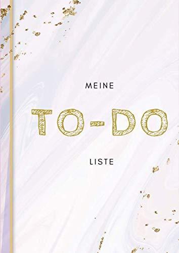 Meine TO-DO Liste: A4 Softcover | 100 Seiten | Perfekt für Aufgaben zum Abhaken, Bucket Listen, Reiseplaner uvm.