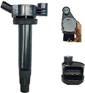 2019 Ignition Coil Compatible for Lexus ES330 RX330 RX400h/ for Toyota for Camry Solara CSL88 (Black)