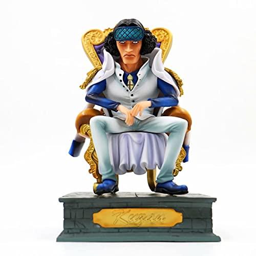 Cuartel General De La Armada De One Piece, El General Superior Kuzan Issho, Sentado Ver.Figura De Acción Gk Colección De Estatuas De PVC Modelo Juguetes para Niños Muñeca 20Cm