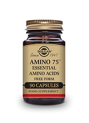 Solgar Essential Amino Complex, 90 Vegetable Capsules - Free Form Essential Amino Acids - Non-GMO, Vegan, Gluten Free, Dairy Free, Kosher - 90 Servings