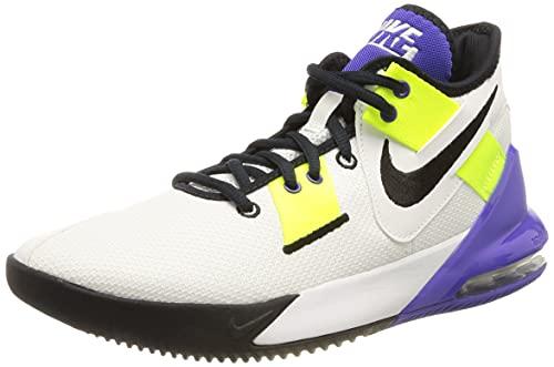 Nike Air MAX Impact 2, Zapatillas de bsquetbol Unisex Adulto, Anthracite Black Mtlc Dark Grey Gym Red, 40 EU