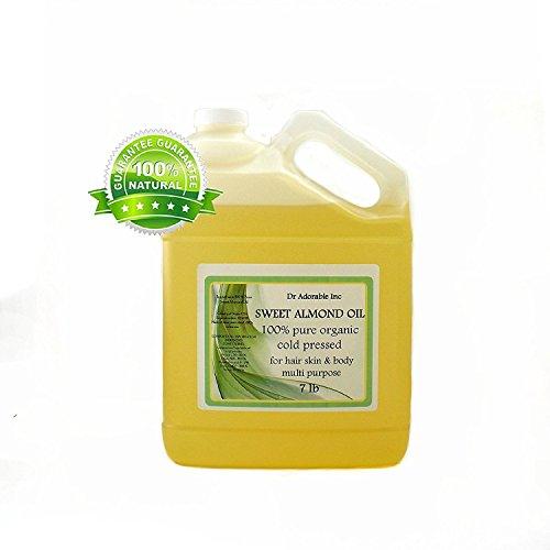 Sweet Almond Oil 100% Organic Skin Care 7 LB