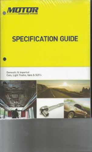 Motor Specification Guide