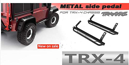 Why Choose Hockus Accessories Metal Side Foot Pedal a Pair for Traxxas T4 TRX4 Defender D110 Land Ro...