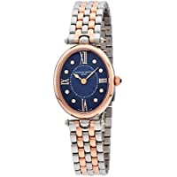 Frederique Constant Mother of Pearl Diamond Dial Ladies Watch