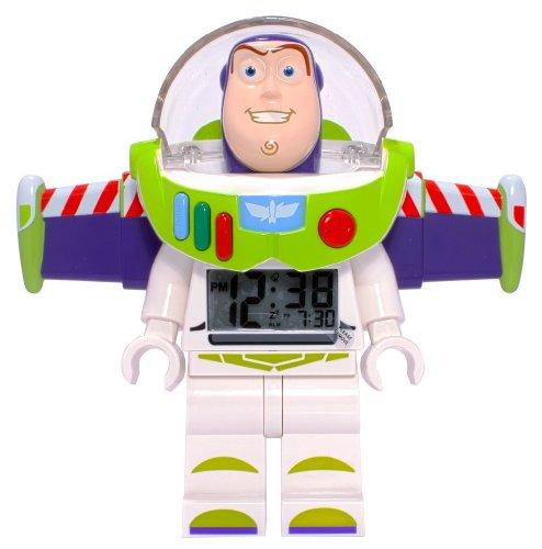 LEGO Toy Story Buzz Lightyear Minifigur Uhr