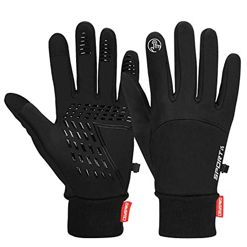 Cevapro Winter Gloves Touch Screen Gloves Cold Weather Warm Gloves for Hiking Running Cycling Climbing