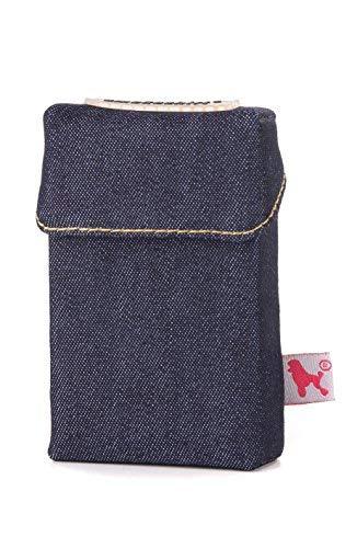 smokeshirt® pitillera para cigarrillos tamaño regular 20 paquetes de cigarrillo caja de cigarrillos