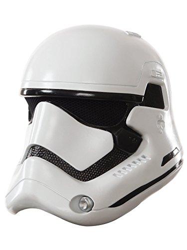 Rubie's-déguisement officiel - Star Wars- Masque stormtrooper- MA1431,Multicolore,Taille unique