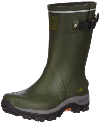 Viking Unisex-Erwachsene Trapper Gummistiefel, Grün (Green/Black 402), 47