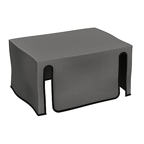 kwmobile Cover Compatible with Epson Ecotank ET-15000 - Dust Cover Printer Protector - Dark Grey