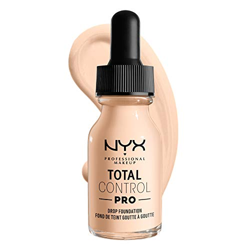 NYX PROFESSIONAL MAKEUP Total Control Pro Drop Foundation, Light Pale