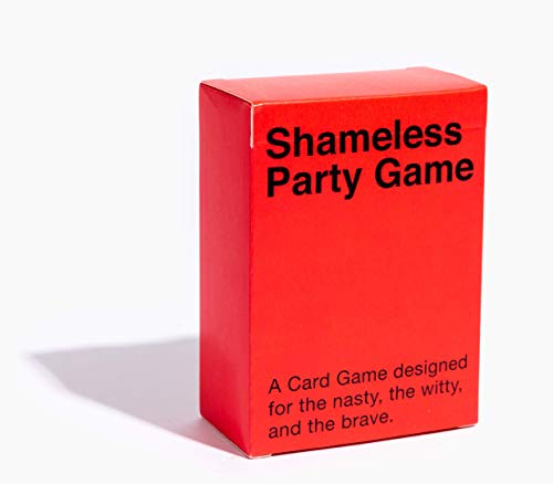 SHAMELESS PARTY GAME: A Question Game for Discovering How Shameless Your Friends Are. Full of...
