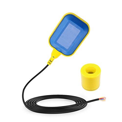 Schwimmerschalter, 5M 250V 10A Automatikkabel Wasser Schwimmerschalter Pumpe Tauch Niveauschalter Wechsler