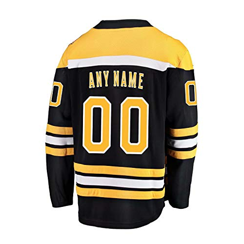 QL Fine Custom All Hockey Teams Jerseys Personalized Any Name and Number Jerseys for Mens(XXL)