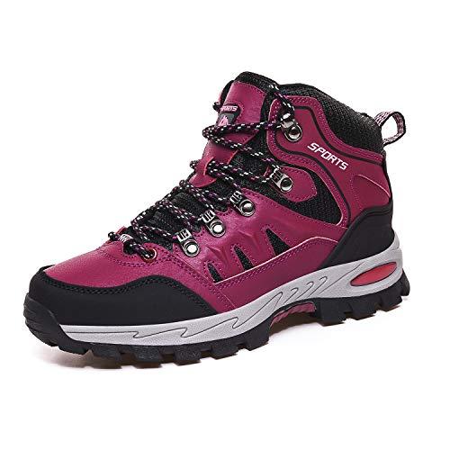 Botas de Senderismo Hombre Mujer Impermeables Zapatillas de Senderismo Montaña