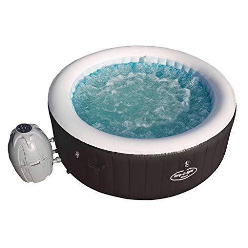 Lay-Z-Spa Whirlpool Aufblasbar für 2-4 Erwachsene Outdoor Indoor Spa Pool Wellness Heizung Massage Außenwhirlpool Jacuzzi Rund 669L 180x66cm