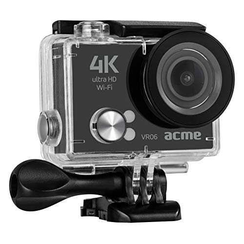 ACME VR06 Ultra HD sports & action camera with Wi-Fi, Schwarz
