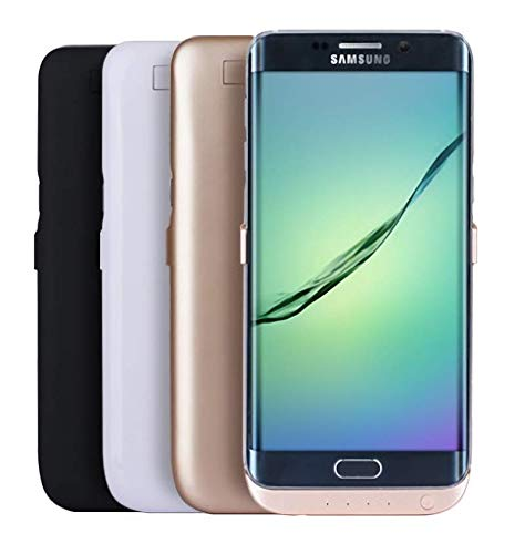 Battery Revolution Power Case – Funda para Samsung S6 Edge +, 5800 mAh, Color Negro