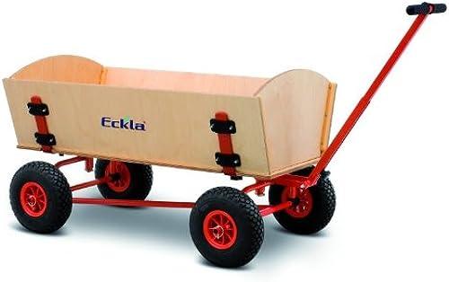 Bollerwagen Fun-Trailer Long mit Hinterachslenkung von Eckla