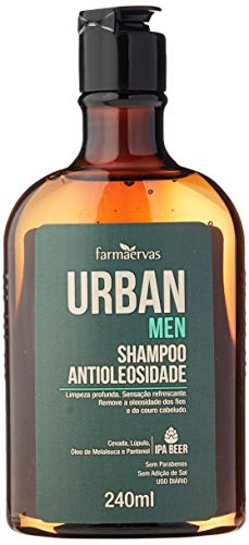 Sh. Antioleosidade Urban Men 240 Ml