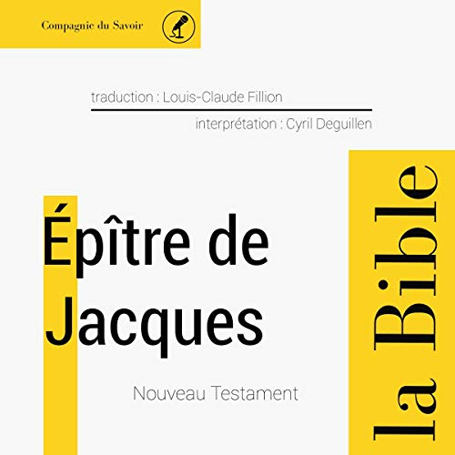 Épître de Jacques audiobook cover art